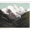 Switzerland Alps Interlaken Die Jungfrau Vintage UDB Postcard