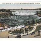 Canada Niagara Falls Gateway Victoria Park Vintage Postcard