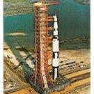 Apollo Saturn V Launch NASA John F Kennedy Space Center Postcard