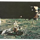 Astronaut Aldrin Moon NASA John F Kennedy Space Center Postcard