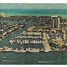 Pier 66 Hotel Marina Fort Lauderdale Florida Vintage Postcard FL