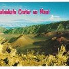 Hawaii Haleakala Crater Maui Vintage Postcard