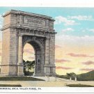 Valley Forge National Memorial Arch PA Vintage Postcard