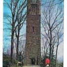 Bowmans Tower Bucks County PA Washington Crossing Vtg Postcard