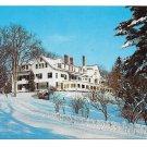 Williamstown MA Williams Inn Williams College Vtg Postcard