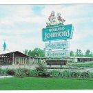 Howard Johnson's Motor Lodge Restaurant Rocky Mount NC HOJO Vtg Postcard