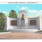 Gettysburg Civil War National Park Lincoln Speech Memorial Vintage Postcard
