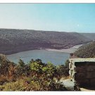 Kinzua Dam from Jake's Rock Warren PA Vintage Postcard
