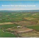Gettysburg Eisenhower Farm Aerial View Vintage Mike Roberts Postcard