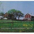 Gettysburg Eisenhower Farm Vintage Mike Roberts Postcard
