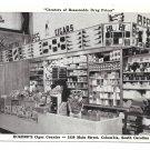 Eckerd's Drug Store Cigar Counter Columbia SC Vintage Postcard
