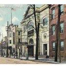 York PA Opera House & Vaudeville Auditorium 1909 Vtg Postcard