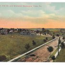 York PA View on West York Ave 1916 Vtg Postcard