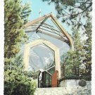 CA Rancho Palos Verdes Wayfarers Chapel Lloyd Wright Architect Postcard
