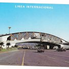 Mexico US California Border Tijuana Baja  Vintage Postcard