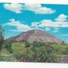 Mexico Piramides de San Juan Teotihuacan Pyramid Vintage Postcard