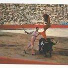 Mexico Bullfight Matador Bullring The Chest Pass Vintage Postcard