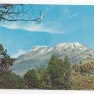 Mexico Ixtaccihuatl Volcano Vintage Postcard Mountain