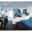 New Mexico Santa Fe Inn of the Governors Motel Interior Vtg Postcard