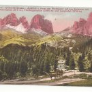 Italy Road in the Dolomites von Hotel Pordoijoch Vntg Postcard