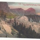 Italy Tyrol Tofana di Roces Falzarego Pass Tunnel Vntg Postcard