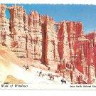 Utah Bryce Canyon National Park Wall of Windows Postcard 4X6