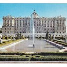 Spain Madrid Royal Palace Vintage Postcard Espana 4X6