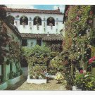 Spain Andalusia Garden Patio Vintage Sevilla Postcard 4X6