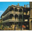 LA New Orleans Labranche Building French Quarter Vintage Postcard 4X6