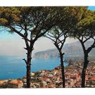 Italy Sorrento Panorama Birds Eye View Postcard 4X6