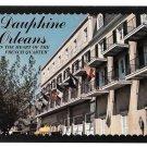 Dauphine Orleans Motor Hotel Motel New Orleans LA Vintage Postcard 4X6