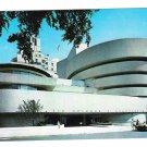 Guggenheim Museum New York NY Frank Lloyd Wright Vintage Postcard