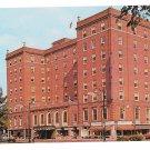 Mark Twain Hotel Elmira NY Vintage chrome Postcard
