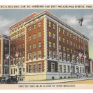 York PA YMCA Building Young Mens Christian Assoc Newberry St Vntg Postcard