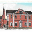 York PA Historic Scene No. 6 State House Colonial Land Office Vntg Postcard