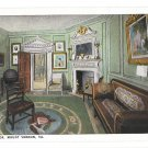 VA Mount Vernon West Parlor George Washingtons Home BS Reynolds Postcard