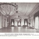 Washington DC East Room White House Vintage Geo Graves Postcard