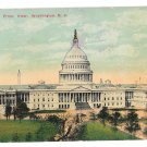 Washington DC Capitol Front View 1911 Vintage Postcard