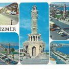 Turkey Izmir Multiview Clocktower City Views Vtg Postcard 4X6