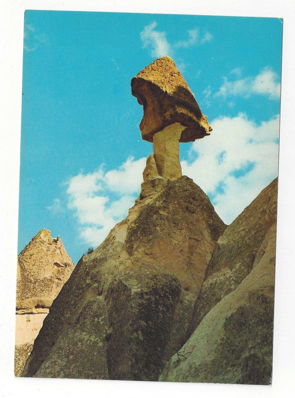 Turkey Zelve Monastery Fairy Chimney Urgup Avanos Vintage Postcard 4X6