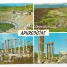 Turkey Karacasu Aphrodisias Multiview Greek Ruins Postcard 4X6