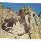 Turkey Goreme Karanlik Church Exterior Cliff View Postcard 4X6
