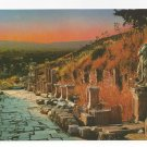 Turkey Efes Ephesus Arcadian Harbor Street Vintage Postcard 4X6
