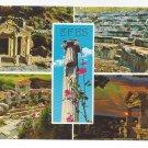 Turkey Efes Ephesus Multiview Greco Roman Ruins Vtg Postcard 4X6