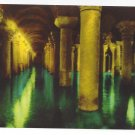 Turkey Istanbul Basilica Cistern Yerebatan Sarayi Vtg Postcard 4X6