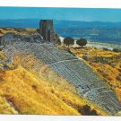 Turkey Bergama Izmir Acropolis Theatre Greek Ruins Postcard 4X6