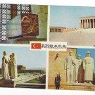 Turkey Ankara Anitkabir Multiview Mausoleum Ataturk Vntg Postcard 4X6