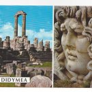 Turkey Didyma Temple of Apollo Medusa Head Didymea Ruins Vntg Postcard 4X6