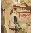 Turkey Avanos Carikli Kilise Church with Sandals Vtg Postcard 4X6