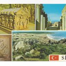Turkey Side Multiview Classical Greek Ruins Museum Vtg Postcard 4X6